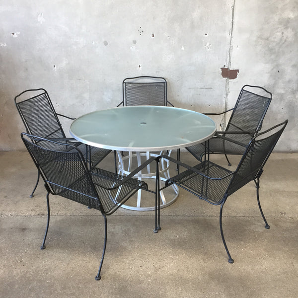 Outdoor Patio Dining Set - Vintage & Antique Patio Tables And Chairs – UrbanAmericana