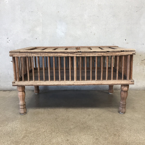 Chicken Hatchery Coffee Table