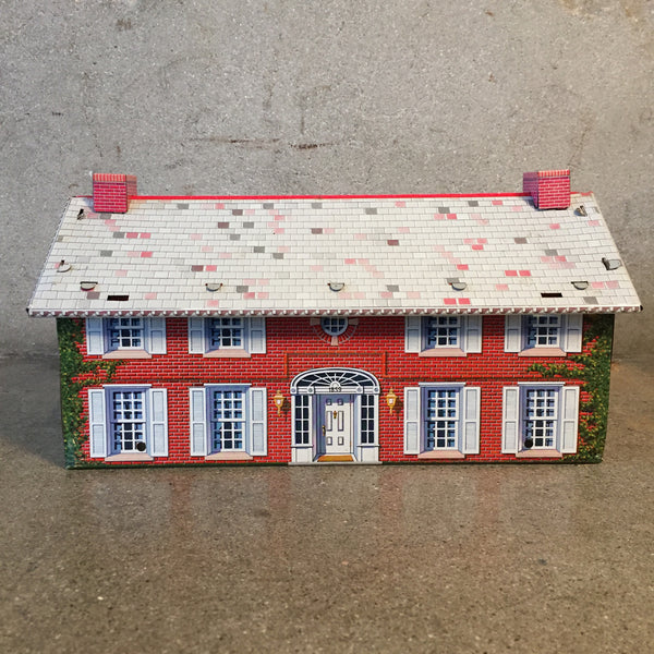 Vintage Metal Toy House