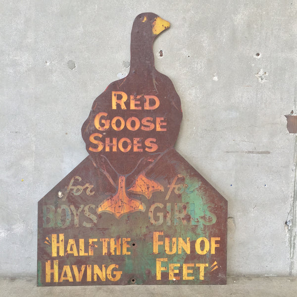 Vintage Red Goose Shoes