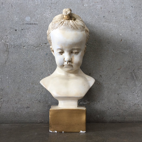Child's Bust from Plaster