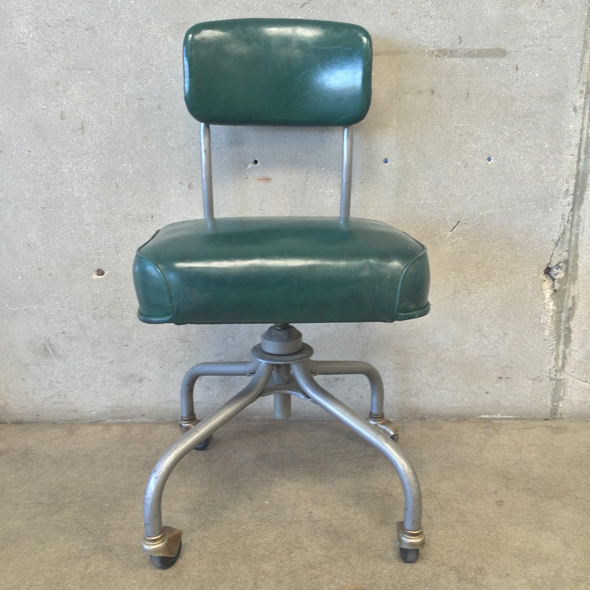 Vintage steelcase chairs - Vintage Steelcase Green Office Chair