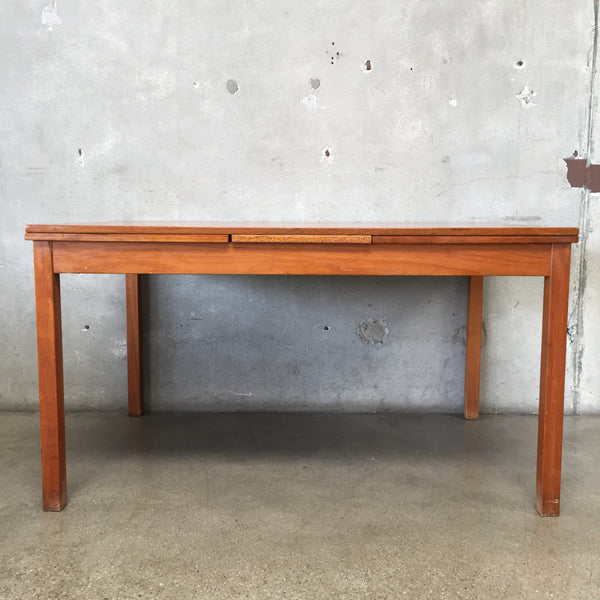 Mid Century Teak Danish Dining Table