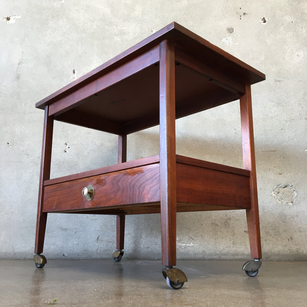 Vintage Mid Century Bar Cart