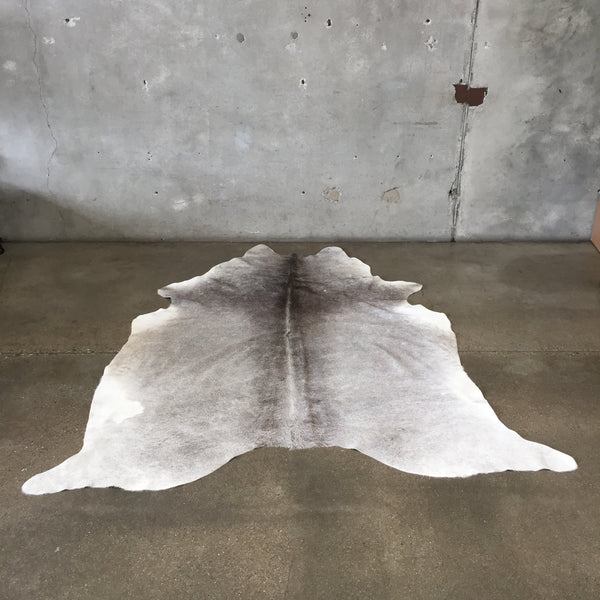 Large Gray Brazilian Cowhide