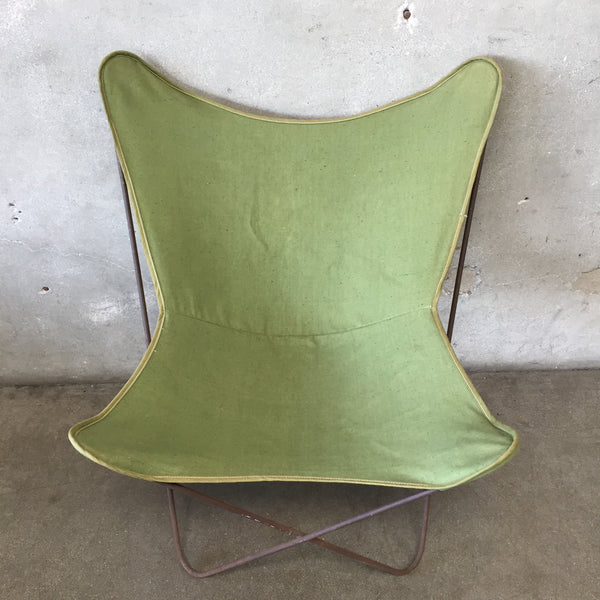 Olive Green Butterfly Chair