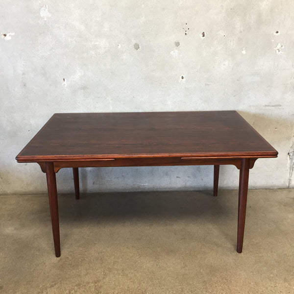 Danish Rosewood Dining Table by Omann Jun Model #54