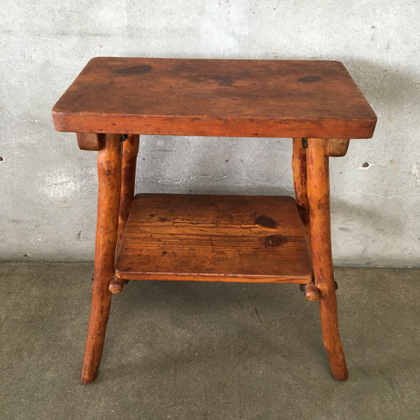 Hand Made Pinecraft Furniture Table