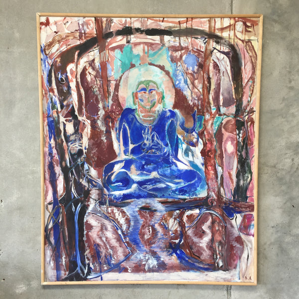 Sam Amato Original Buddha Art Work