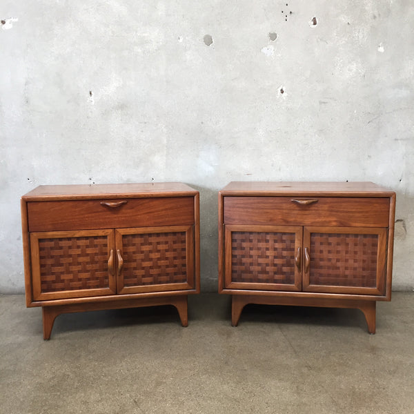 Pair of 1963 Mid Century Lane Perception Nightstands