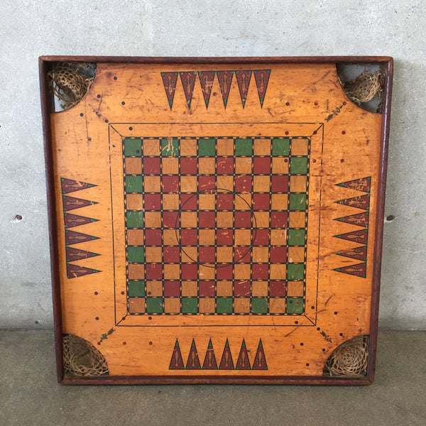 Vintage Carrom Game Board