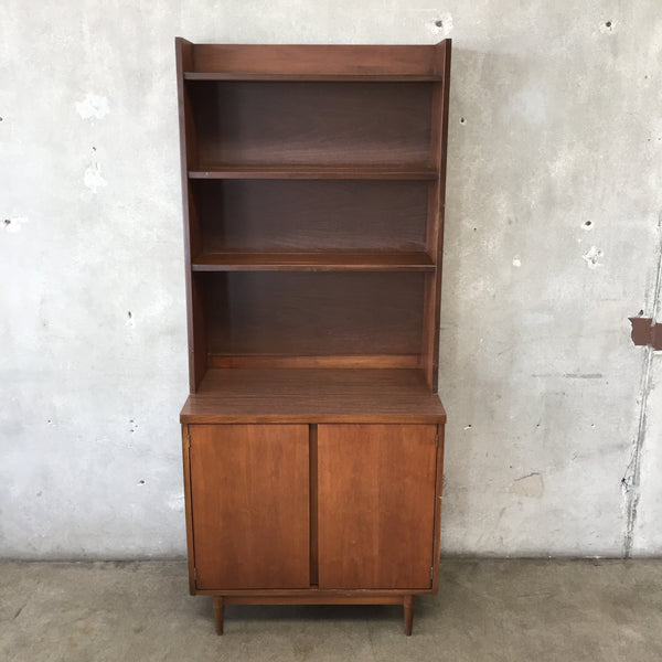 Mid Century Two Piece Hutch