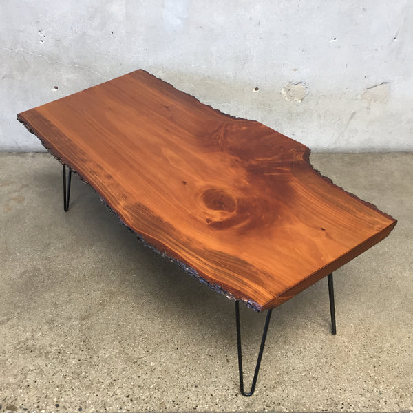 Slab Wood Coffee Table