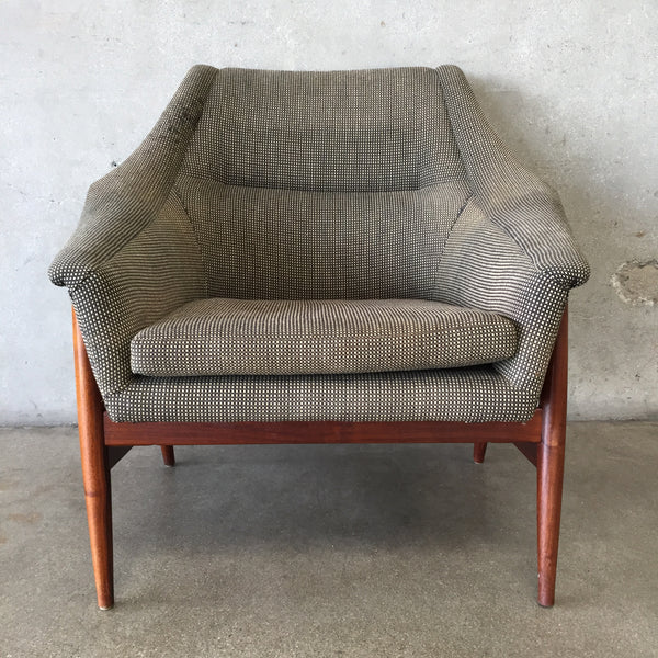 Vintage Mid Century Danish Lounge Chair