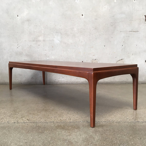 Walnut Mid Century Coffee Table