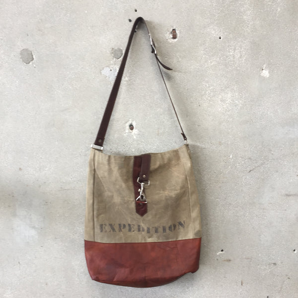 Expedition Waxed Canvas Bag