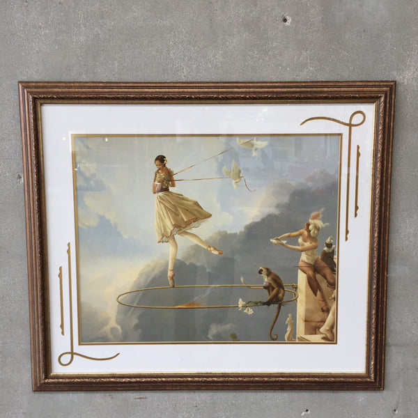 "Michael Parkes ""Tuesdays Child"" Framed Print"