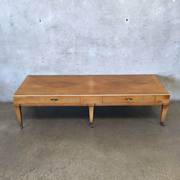 Mid Century Coffee Table By American of Martinsville