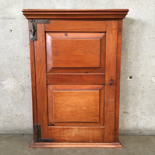 Antique Pine Hanging Cabinet