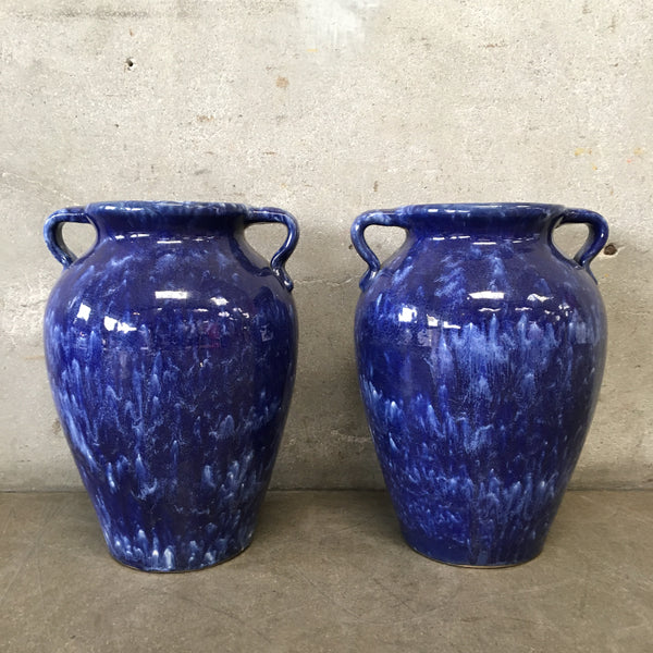 Pair of 1920's McCoy Floor Vases