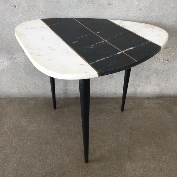 Modern Marble Top Side Table