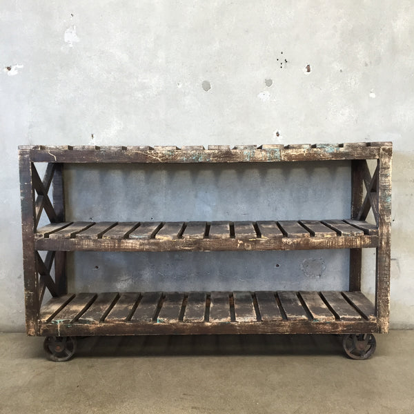 Three Tier Industrial Rolling Cart