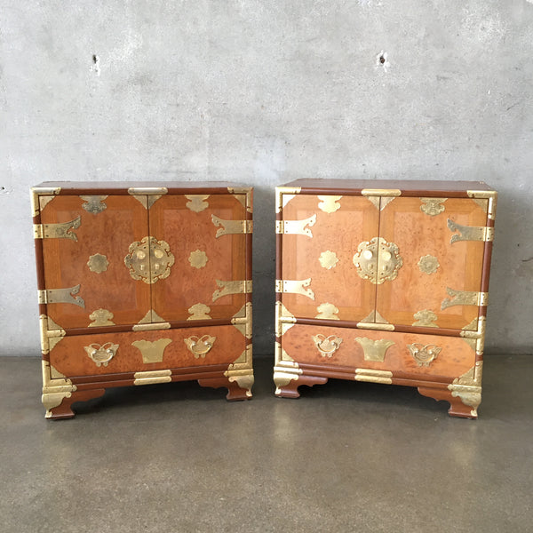 Pair of Vintage Asian Side Tables