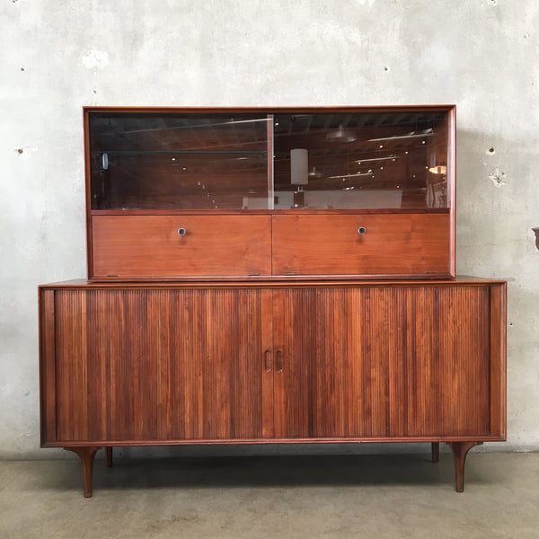 Mid Century Glenn of California Highboard Hutch by Robert Baron