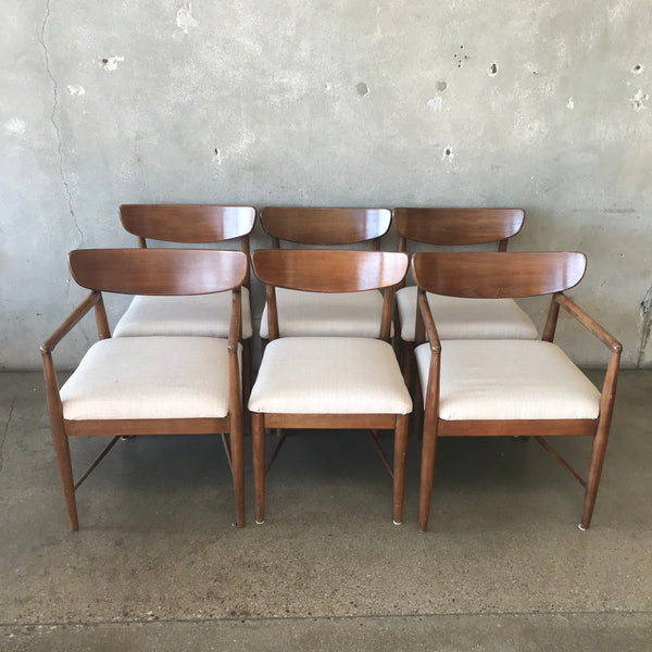 Mid Century Modern Dining Chairs - Set of 6