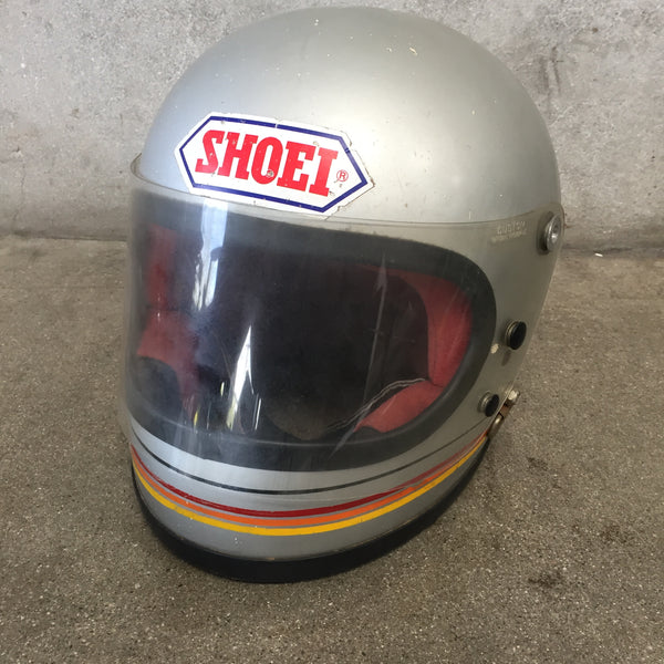 Vintage 1975 SHOEI Motorcycle Helmet