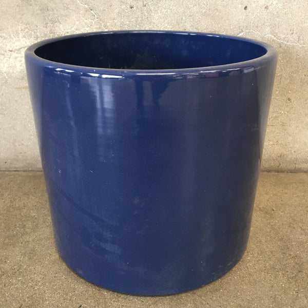 Dark Blue Gainey Garden Pot