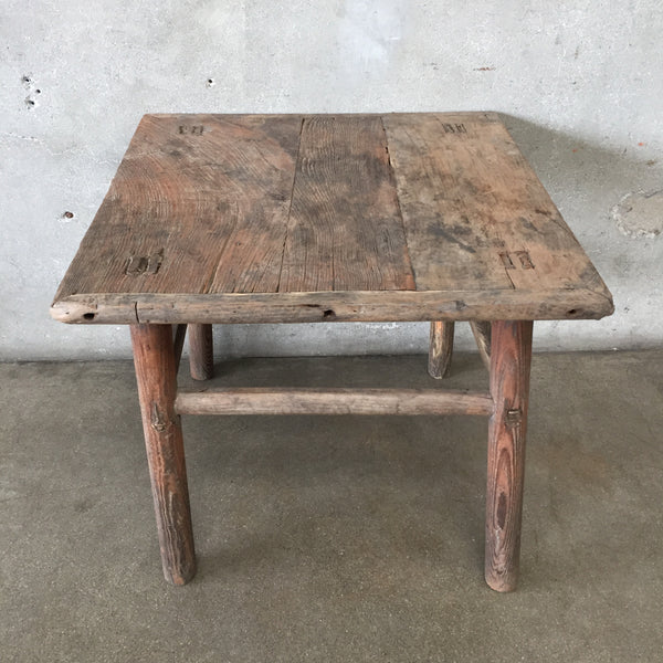 Farm Style Side Table