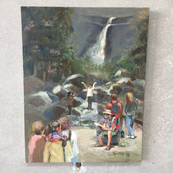 Original Yosemite Falls Painting