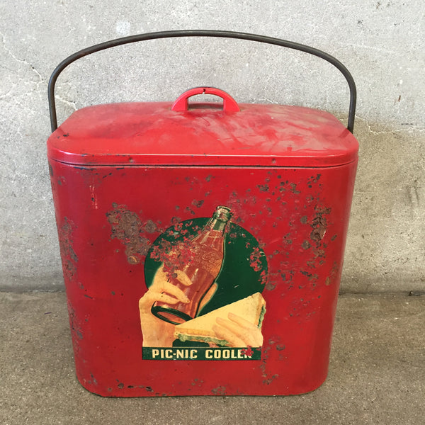 1940's Small Coca Cola Cooler