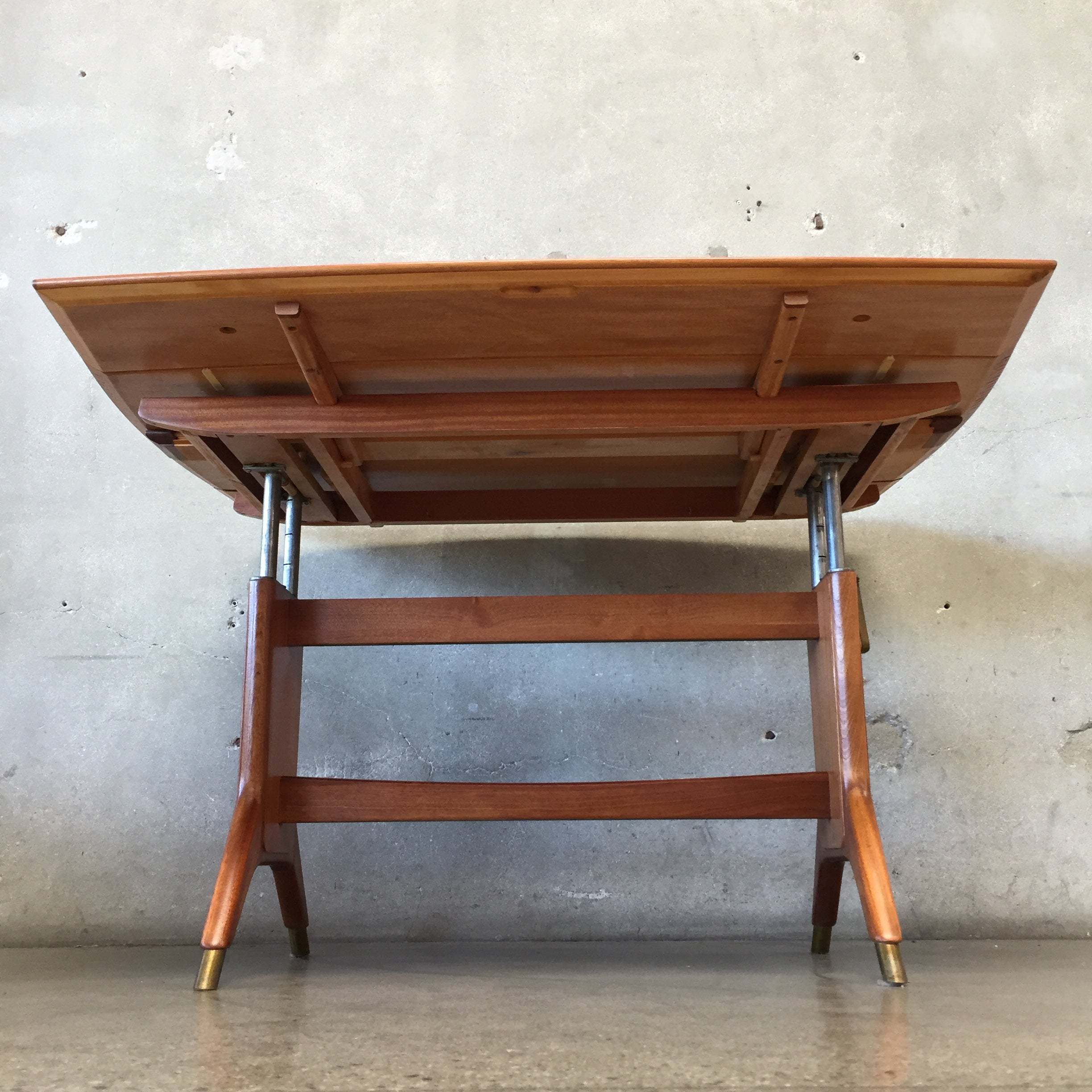 Mid Century Adjustable/Convertible Dining & Coffee Table