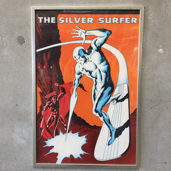 1973 Silver Surfer Poster
