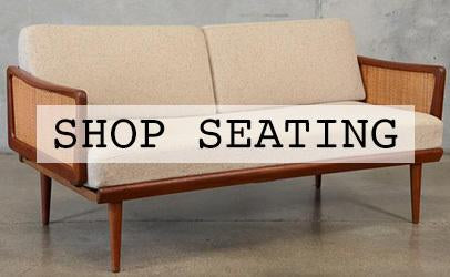 shop vintage seating
