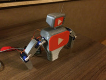 Load image into Gallery viewer, Subby the interactive YouTube subscriber robot model