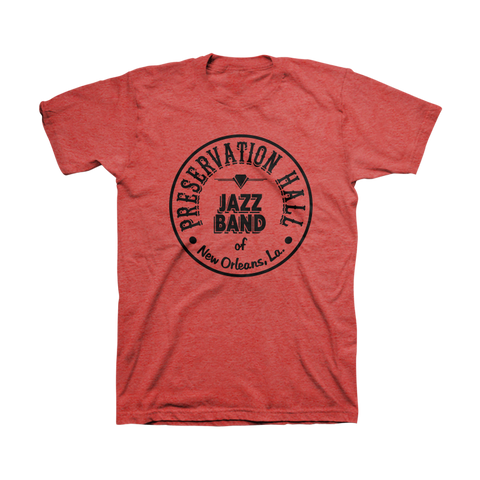 Mens PHJB Drum Logo Tee (Red)