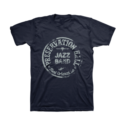 Mens PHJB Drum Logo Tee (Midnight Navy)