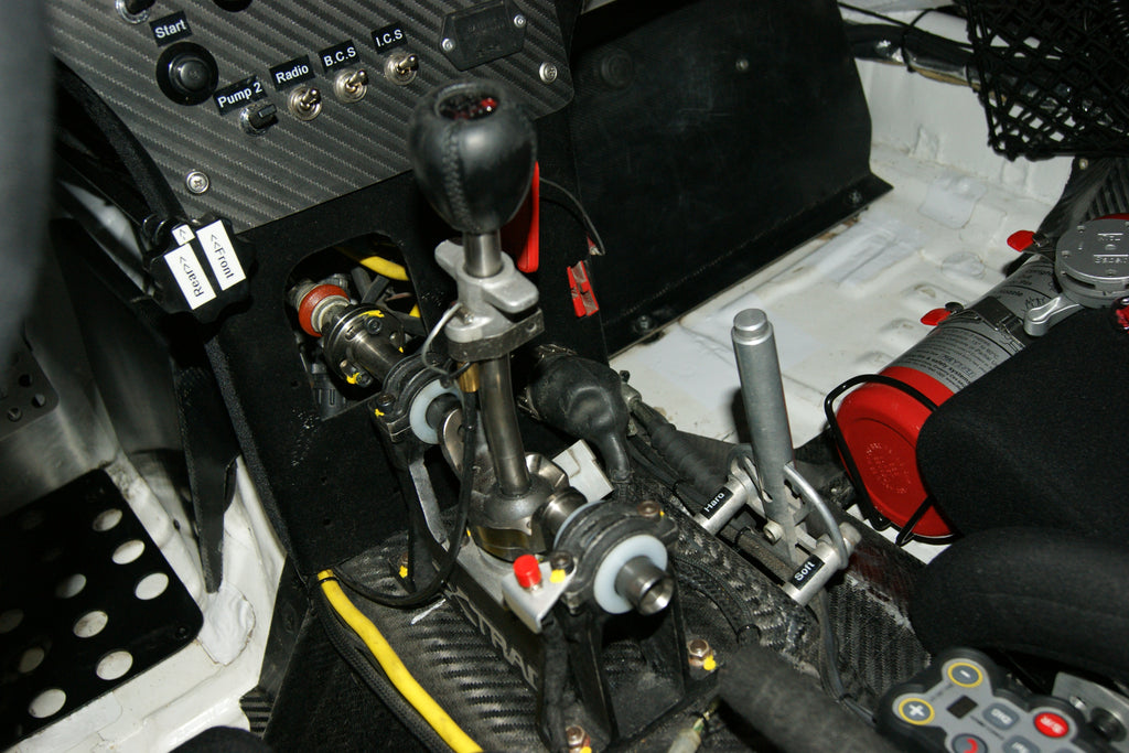 Gear lever and adjustment lever for the front ARB