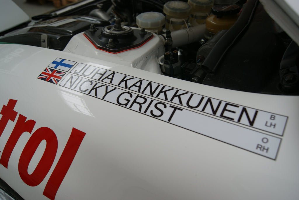The Juha Kankkunen/Nicky Grist Celica ST185 Group A car