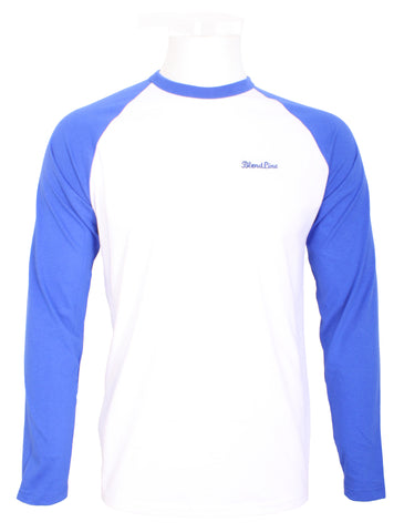Clean Air Long Sleeve  T-Shirt [blue/white]