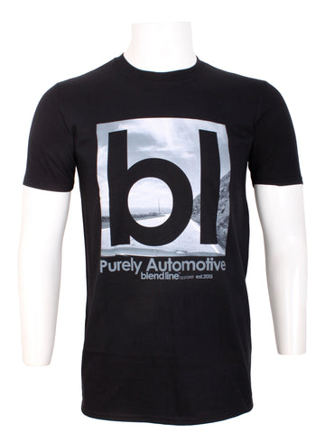 BL Icon T-Shirt [white on black]
