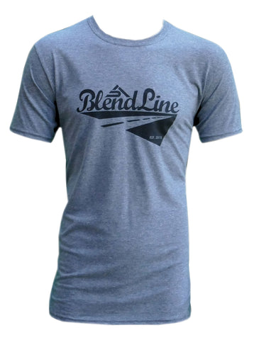 Classic Road Trip T-Shirt [black on graphite grey]
