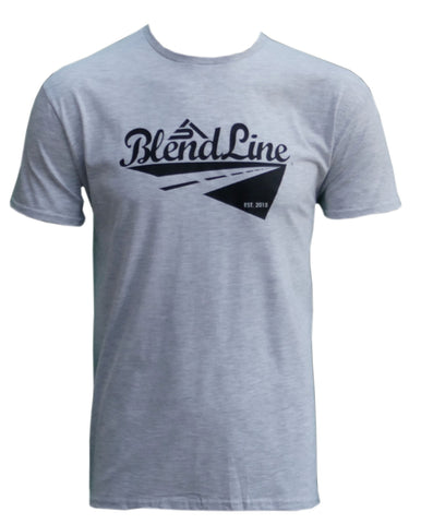 Classic Road Trip T-Shirt [black on grey]