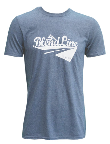 Classic Road Trip T-Shirt [white on graphite grey]
