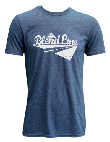 Classic Road Trip T-Shirt [white on dark heather]