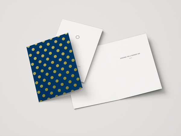 Eid Greeting Card | Midnight Blue