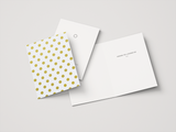 Eid Greeting Card | Gold